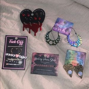 Beautiful unique jewelry bundle